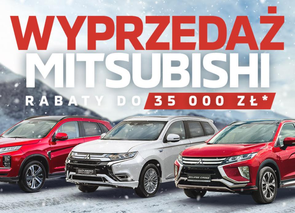 Wyprzedaż Mitsubishi Wojtanowicz
